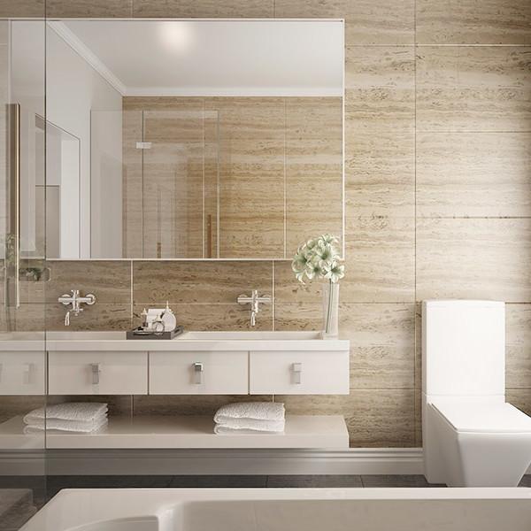 Bathroom Vanities Christchurch: White High Gloss Lacquer Bathroom Vanity BC15-L03