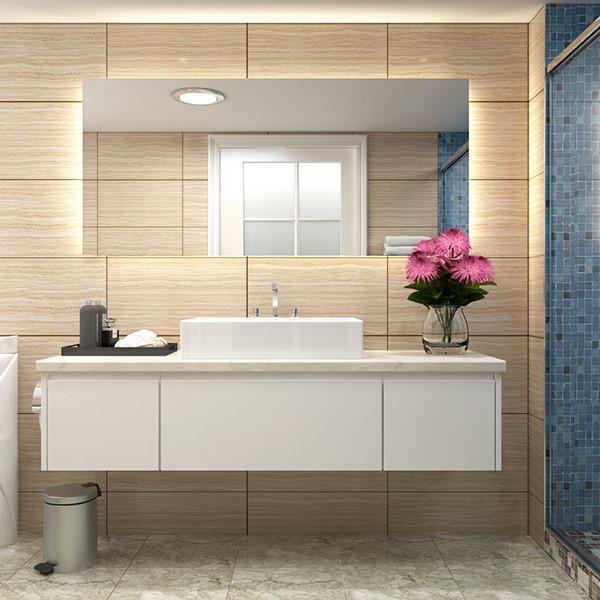 Bathroom Vanities Christchurch: White Matte Lacquer Bathroom Vanity BC16-L03