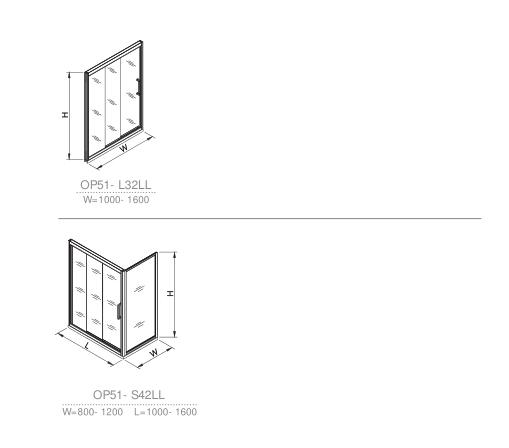 OP51-L32RR  shower room