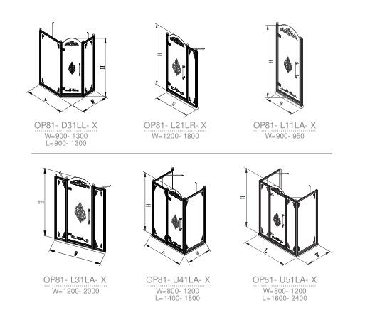 OP81-D31LL-X shower room