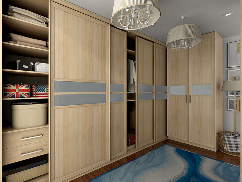 Oppein Light Wood Grain Melamine Wardrobe Oppein Yg16 M15