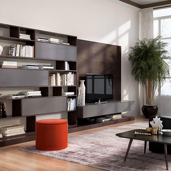 oppein modern dark wood tv cabinet tv17 a02 oppein. Black Bedroom Furniture Sets. Home Design Ideas