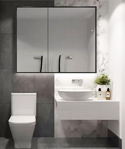 Bathroom Vanities Christchurch: Project In Melbourne - OPPEIN