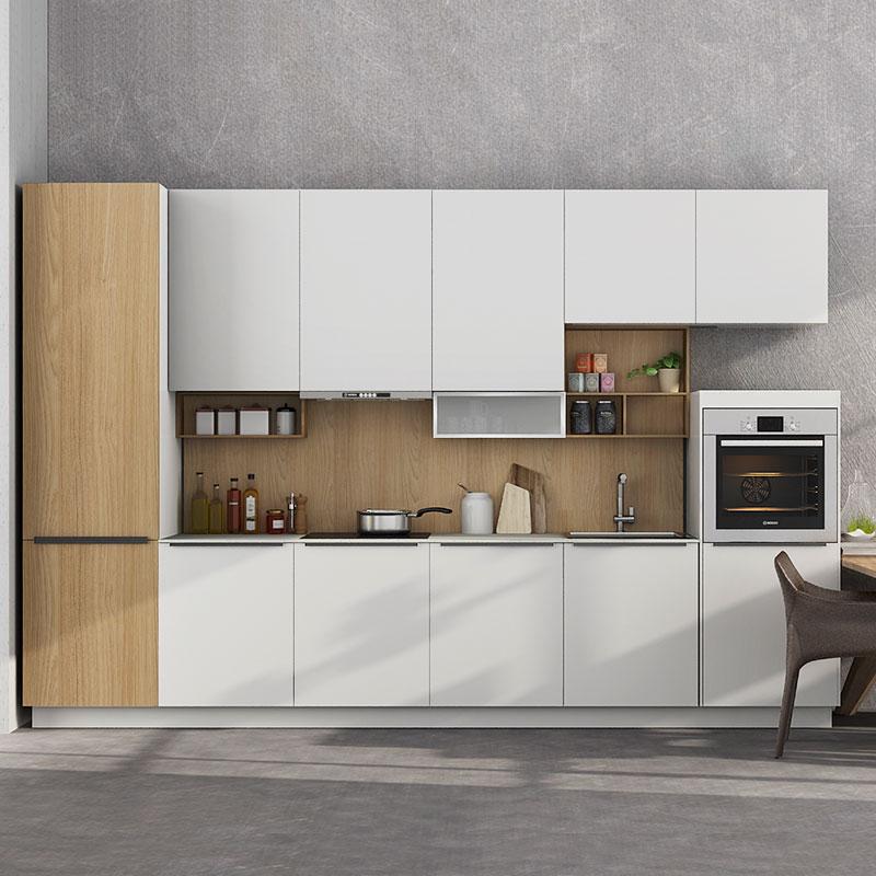 Oppein 360cm Width Standard Kitchen Cabinet With Pvc Finish Op17 Pvc05 Oppein