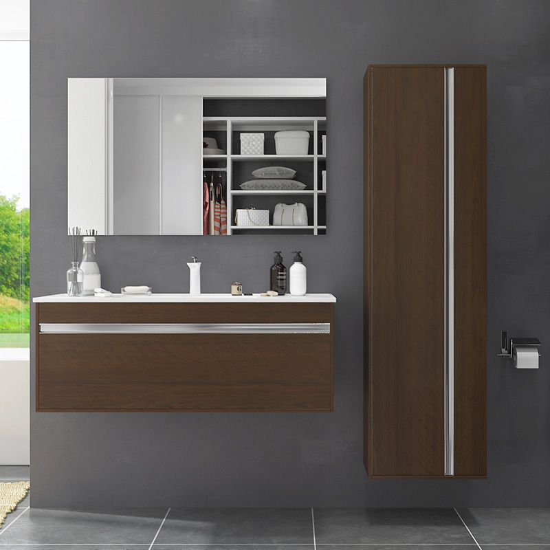 Oppein Melamine Wall Mounted Bathroom Cabinet Bc17 M01